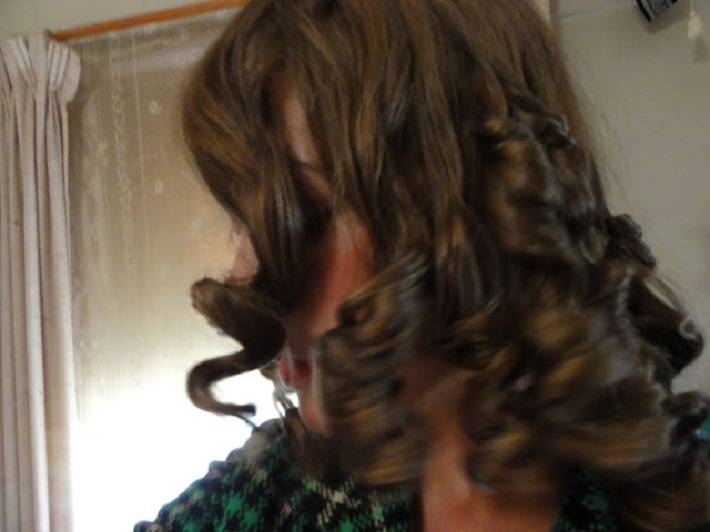 Rag Curls Hairstyle