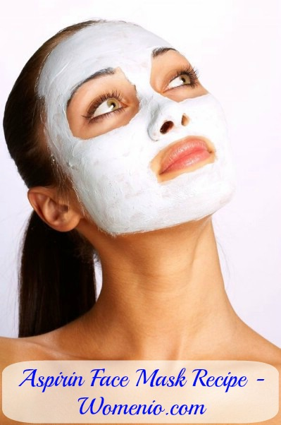 Aspirine face mask