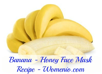 Banana honey face mask recipe