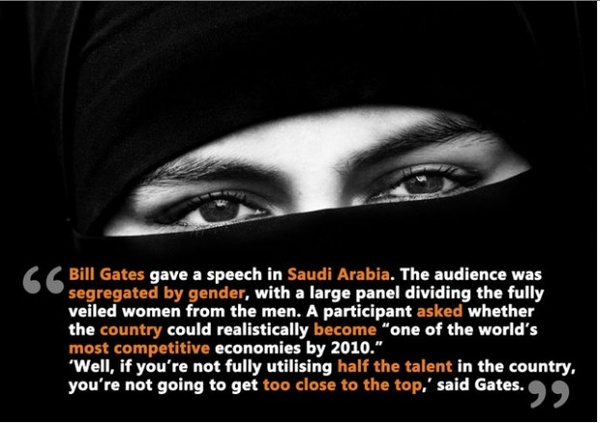 Saudi Arabia Speech From Bill Gates