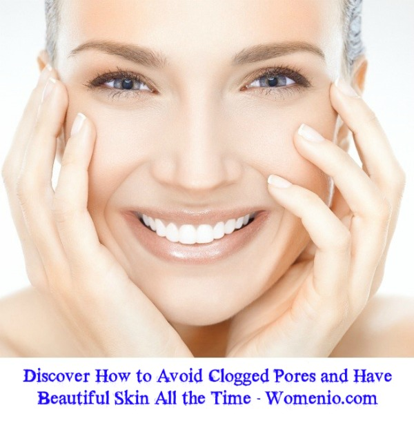 How to avoid clogged pores
