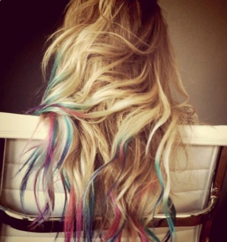 Dip-Dye Hair Coloring Tutorial and Styles - Women\'s Magazine By Women