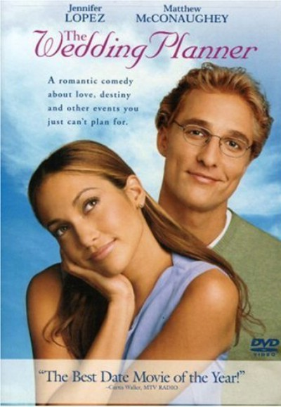 Dvd cover of The wedding planner movie