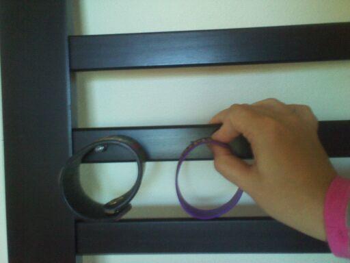 measuring the bracelet row