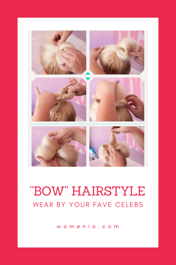 bow hairstlye