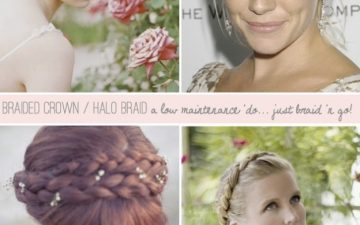 example crown and halo braids for the tutorial