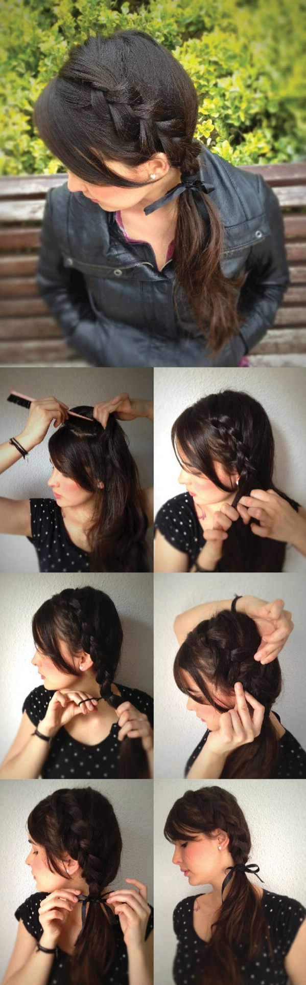 Inverted Side Braid