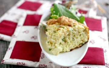 Plated souffle