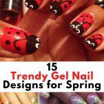 30 Cute Gel Nail Ideas for Summer (1)