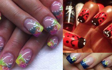 30 Cute Gel Nail Ideas for Spring