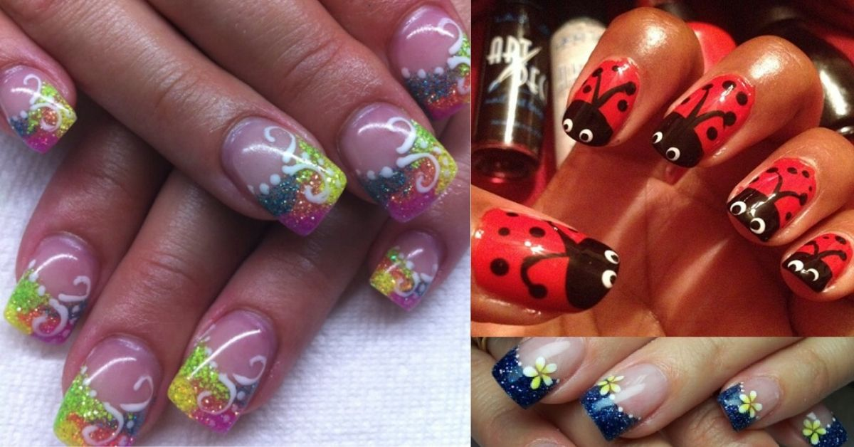 30 Cute Gel Nail Ideas for Spring