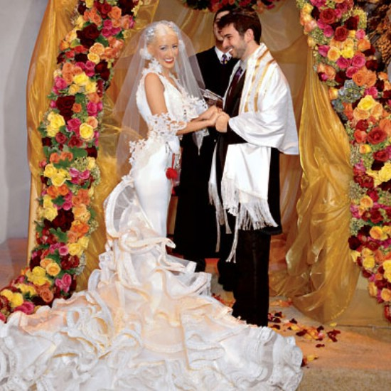Top 10 Celebrity Wedding Dresses of All Time - Women\'s Magazine By Women