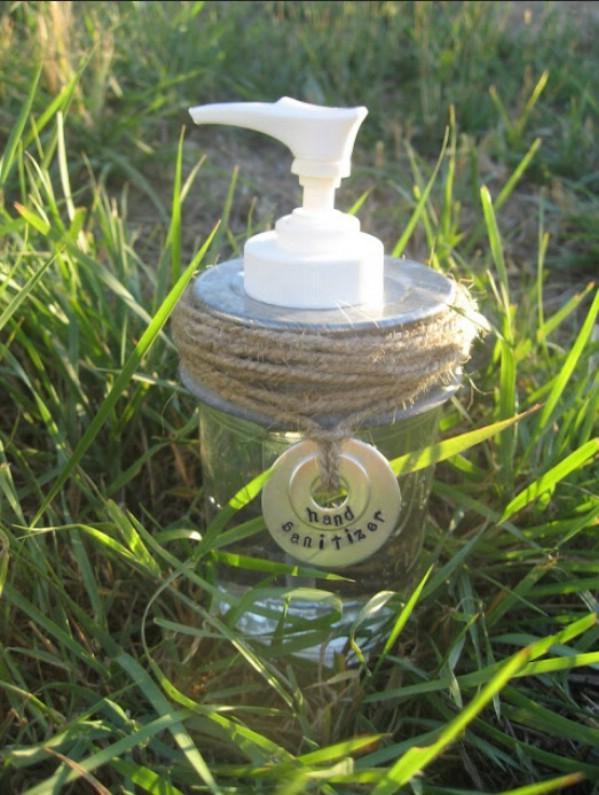 lotion dispenser jar