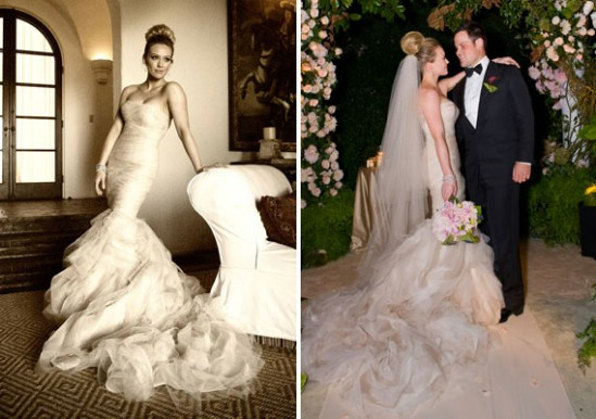 Top 10 Celebrity Wedding Dresses of All Time
