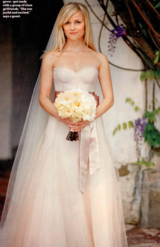 Top 10 Celebrity Weddi... Reese Witherspoon Clothing Line