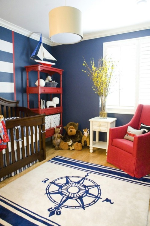 Captain inspired nursery