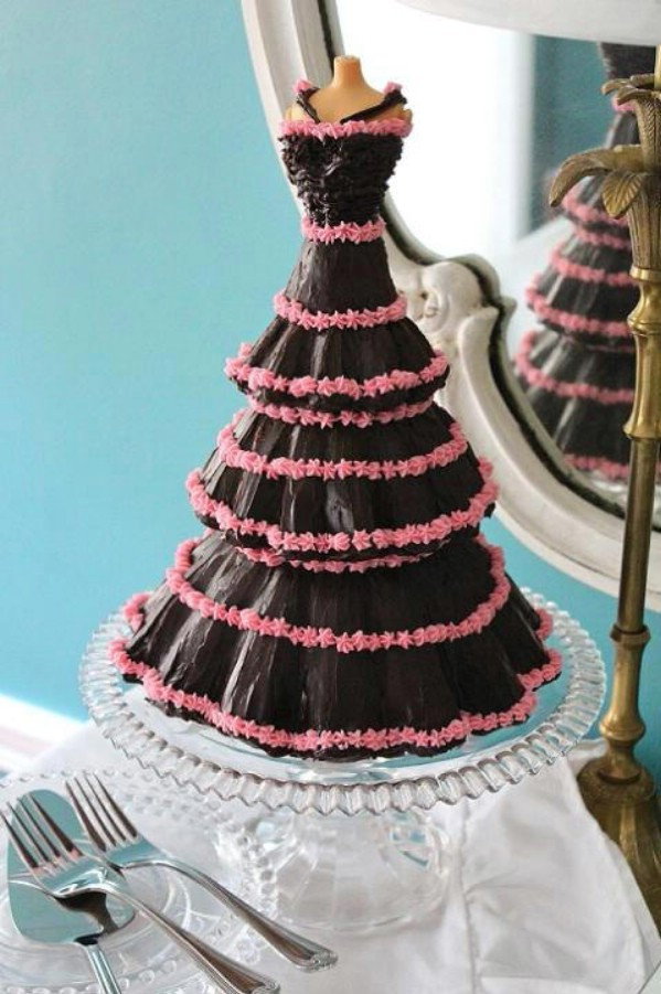 Cake Designs Ideas 15 of the most beautiful homemade cake decorating ideas Professional Chocolate Mannequin Cake