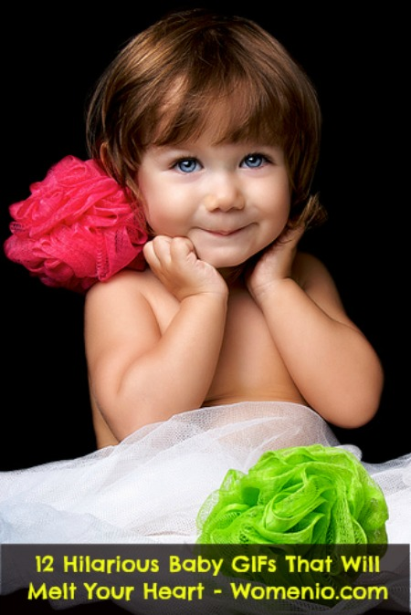 excited little girl