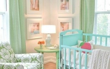 Example demonstration of an elegant nursery