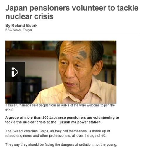 Japanese volunteers