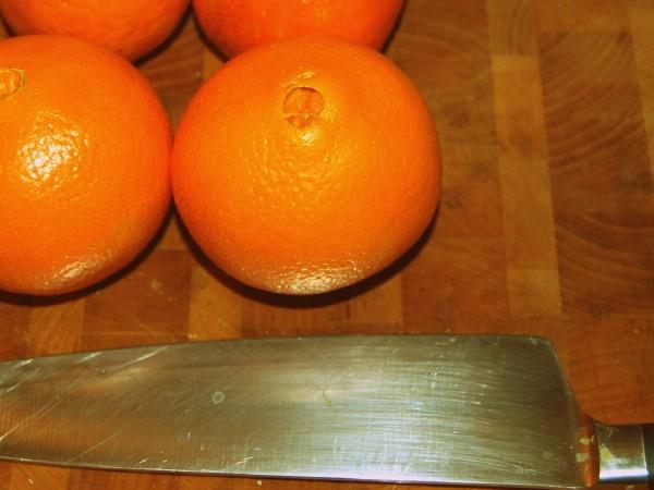 Oranges used as jam ingredient