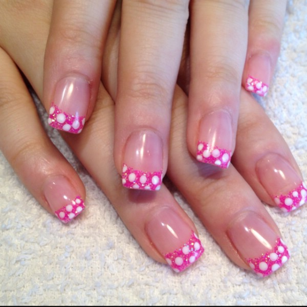 Pretty Pink Nail Designs | Nail Designs, Hair Styles, Tattoos and ...