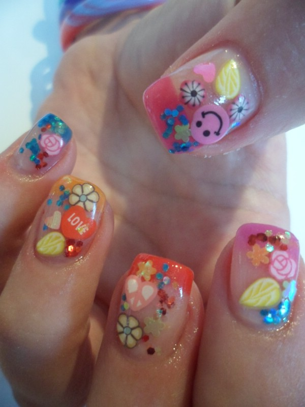 15 Trendy Gel Nail Designs for Spring - Women\'s Magazine By Women