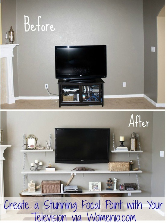 Beautiful Tv Decor Idea Step By