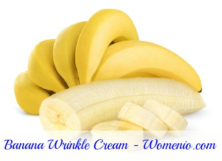 Banana based wrinkle cream recipe