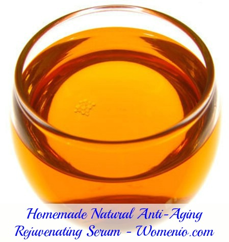 Homemade anti-aging serum