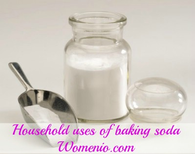 Household uses of baking soda