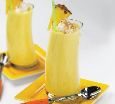 Banana peas smoothie