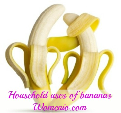 Household uses of bananas