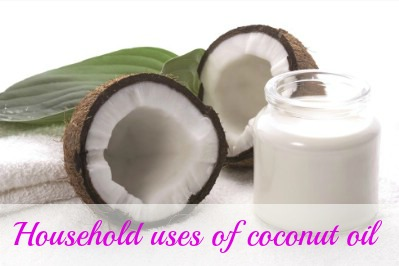 Household uses of coconut oil