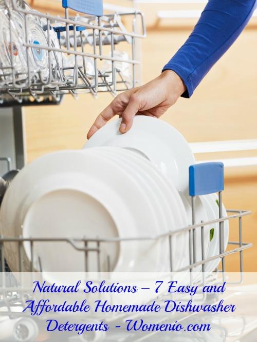 Affordable Homemade Dishwasher Detergents