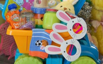 DIY Baby Easter basket idea