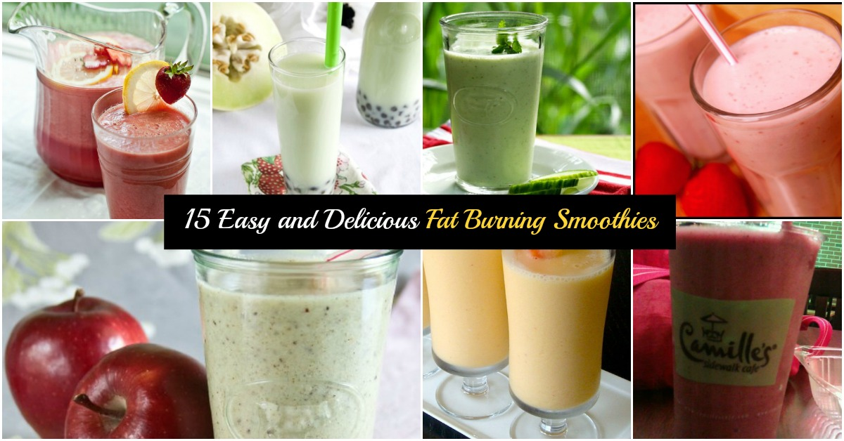 fat burning smoothies collection