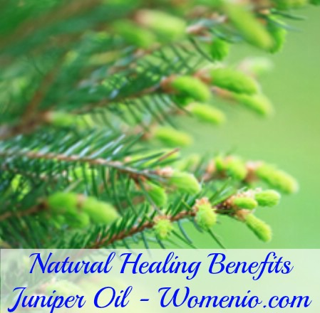 Juniper oil healing benefits