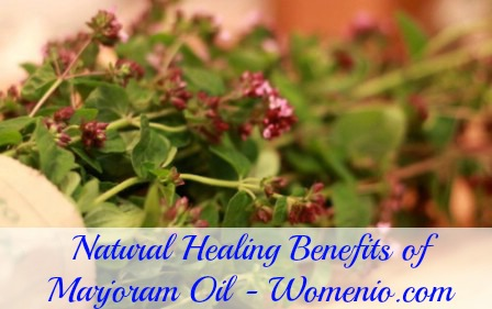 Marjoram oil benefits