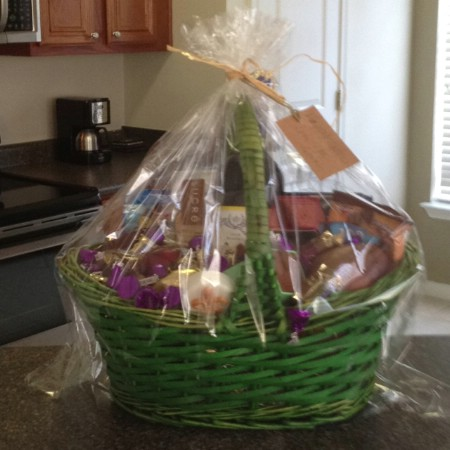 Mothers Easter basket