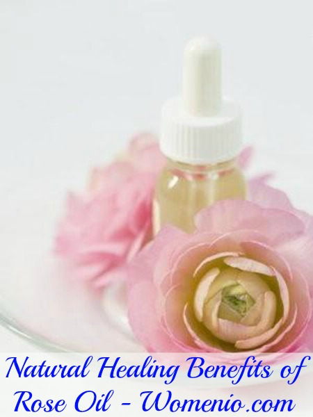 Rose oil healing benefits
