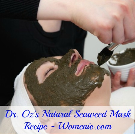 Dr. Oz's Seaweed mask recipe