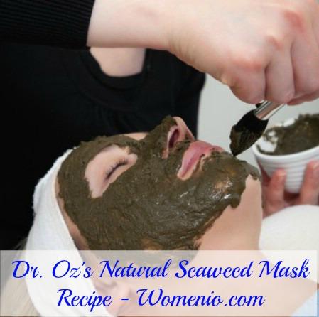 Dr. Oz's Seaweed mask recipe