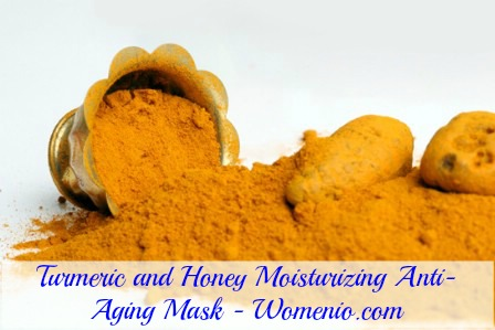 Turmeric and honey moisturizing recipe