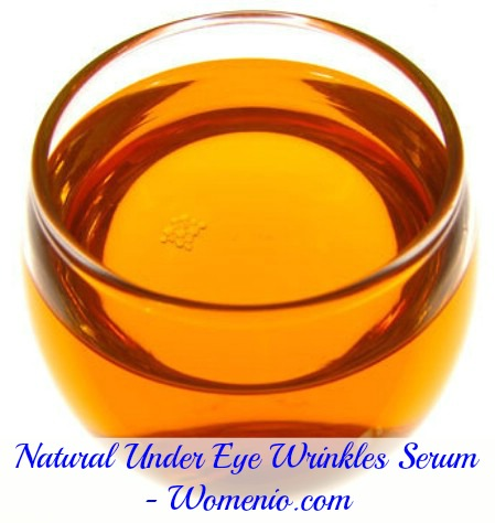 Under eye wrinkle remover serum
