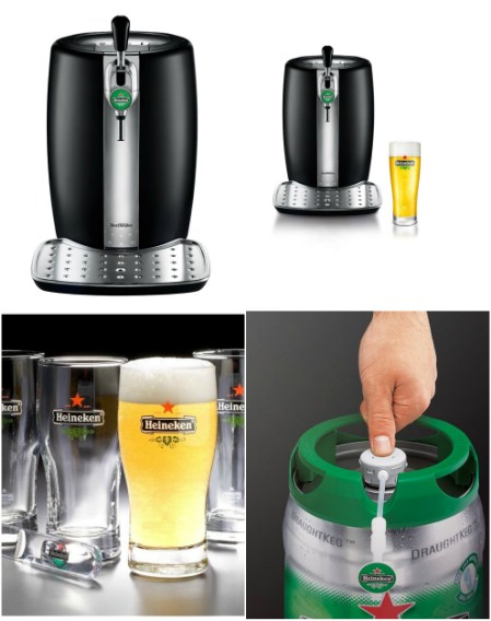 Krups and Heineken BeerTender Draught Keg