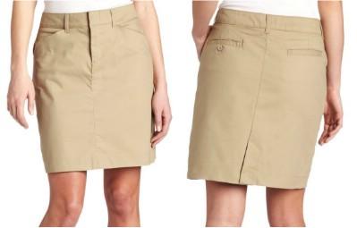 Dickies Women's 20 Inch Stretch Twill Skirt