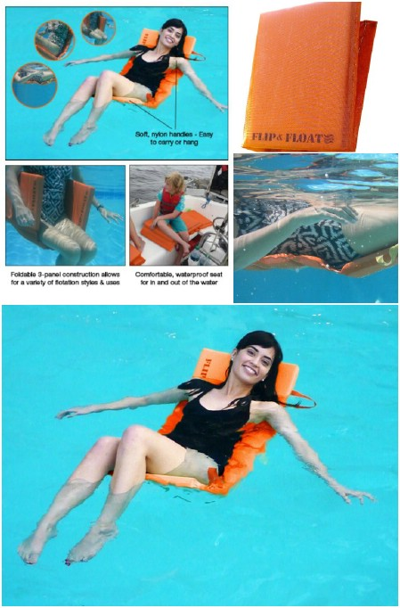 Flip & Float Floating Pool Lounger
