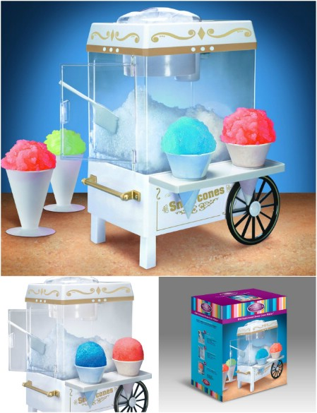 Nostalgia Electrics Vintage Collection Old Fashioned Snow Cone Maker