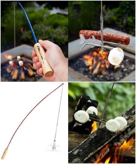 Fire Buggz Fishing Pole Campfire Roaster